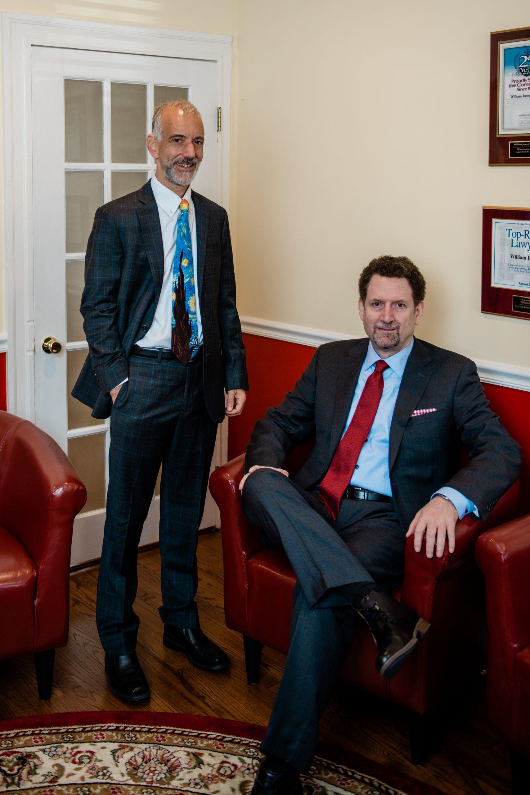 Inman Kaminow Lawyers William J. Inman and David Kaminow